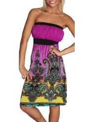 Inexpensive Summer Dress - Alki'i Missy Hibiscus Tube Summer Beach Sun Dress - Maui Print