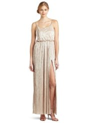 Long Summer Dresses - BCBGeneration Women's High Slit Maxi Dress
