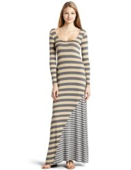 Ella moss Women's Striped Maxi Dress - Long Summertime Dresses