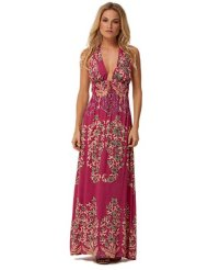 Long Summertime Dresses - ViX Swimwear Cherry Solid Maxi Dress